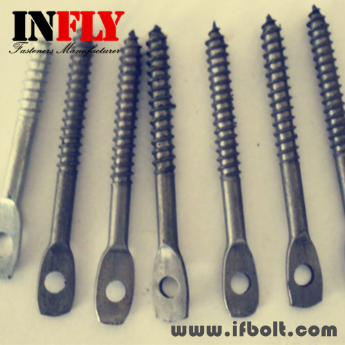 Flat Bolt With Hole Press Flat Head Wood Screw With Hole Infly Fasteners Manufacturers Infly Fasteners Inc Bolts Factory