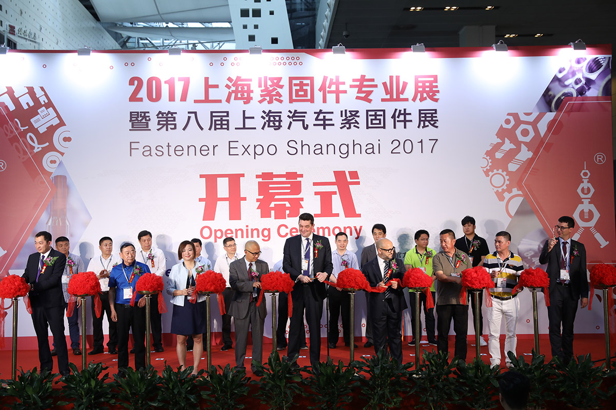 Fastener Expo Shanghai 2017 ended with a great success on June 24th