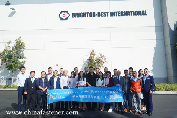 Chinese Companies Visited US Famous Companies and Fastener Stores to Develop US Market