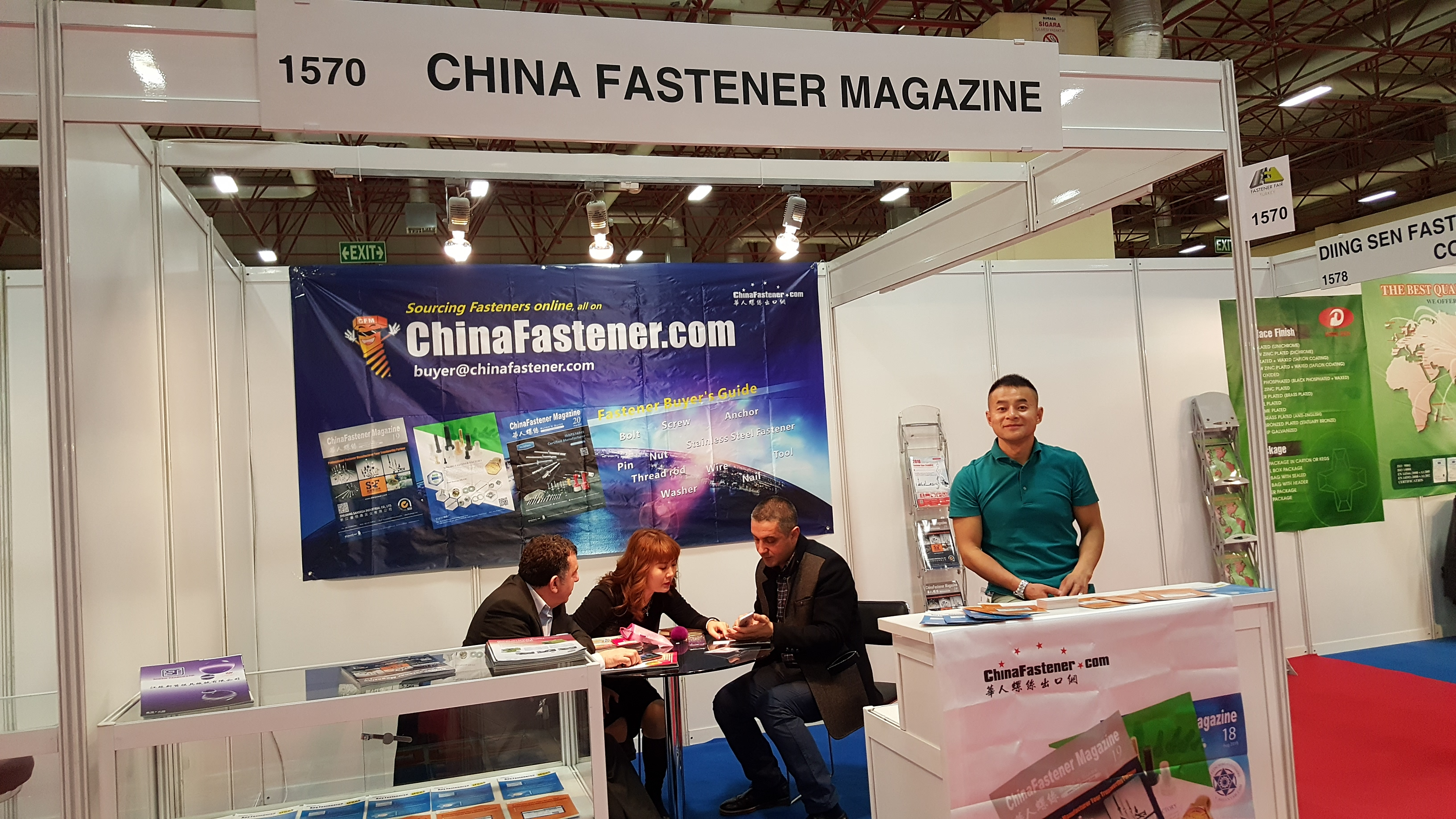 CFM in Fastener Fair Turkey, brings you the first hand report in the smoke of terror attack
